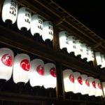 2012年大津駅前の大津祭曳山提灯