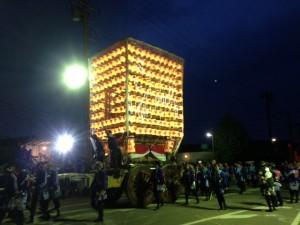 2013年高岡市・伏木曳山祭けんか山2